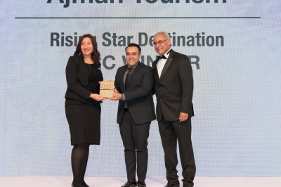 Ajman Tourism Awarded Rising Star Destination at the GCC Food and Travel Awards