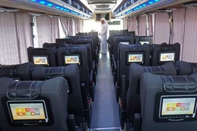 Dubai to Ajman in Dh12, with free WiFi and movies