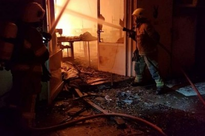 Major fire contained in Ajman warehouse