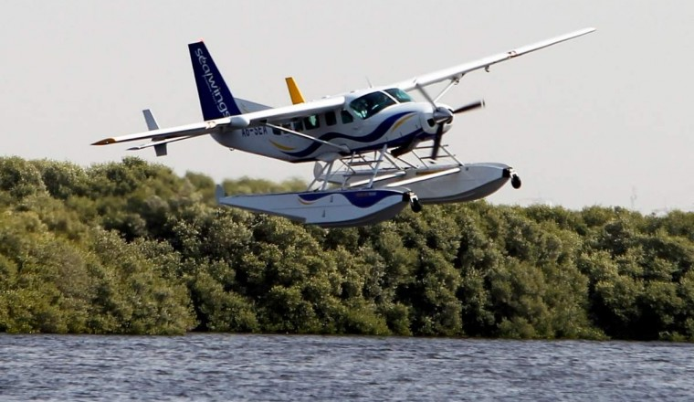 Now, take a seaplane from Ajman to anywhere in UAE